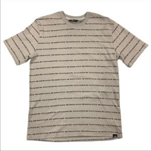 The North Face All Over Print Spellout T Shirt